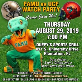 FAMU VS UCF WATCH PARTY | Famu Alumni